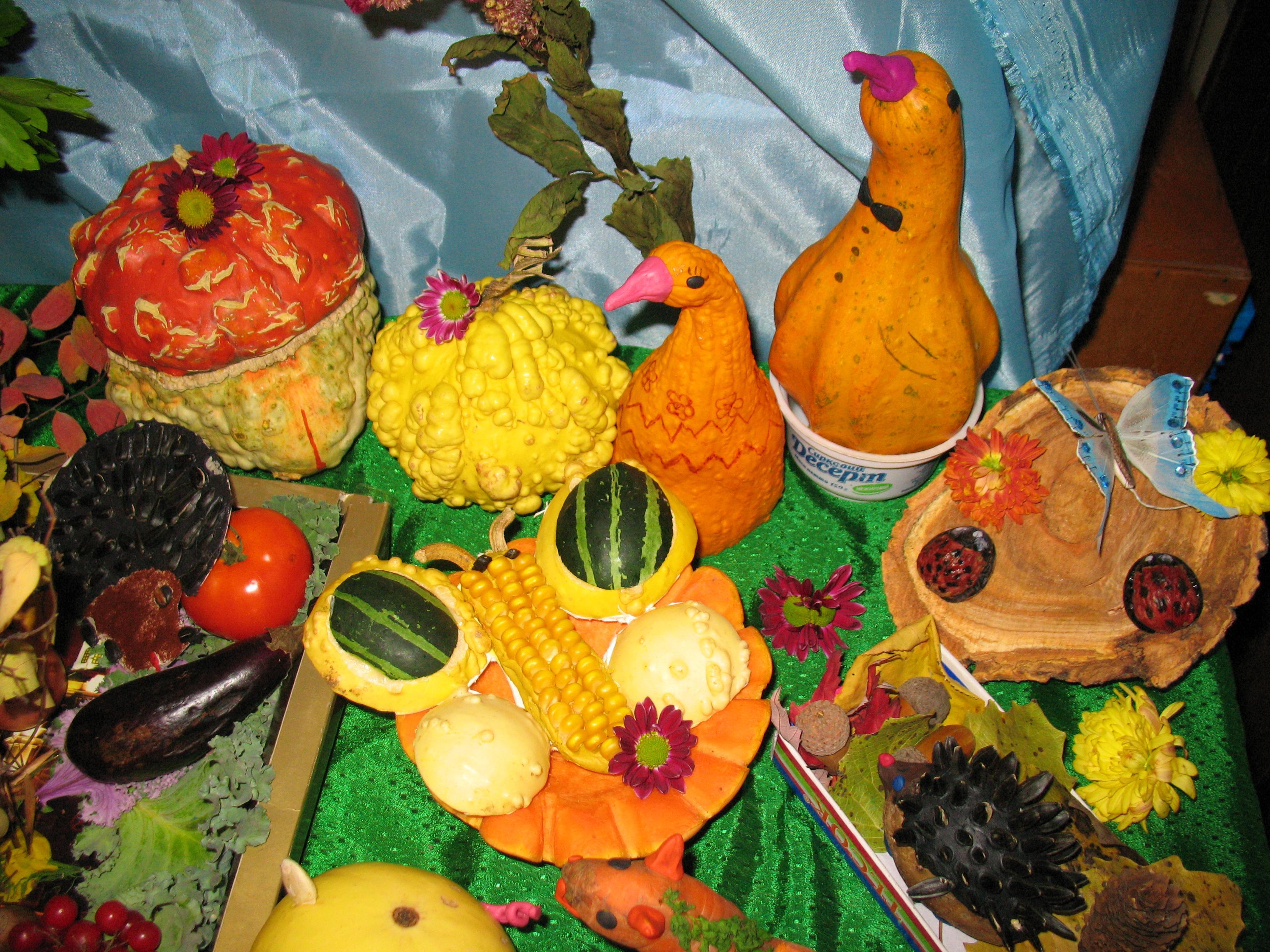 Поделки для свята осені